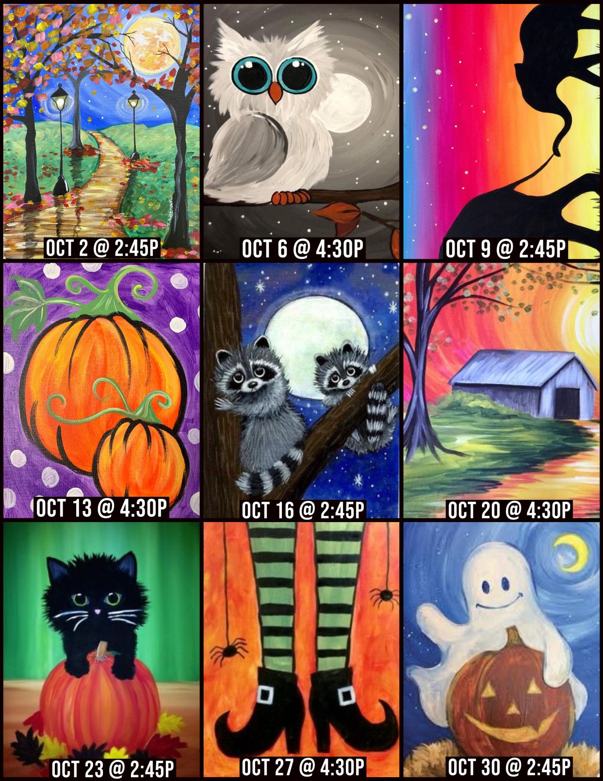 Oct Virtual Paint Parties sm
