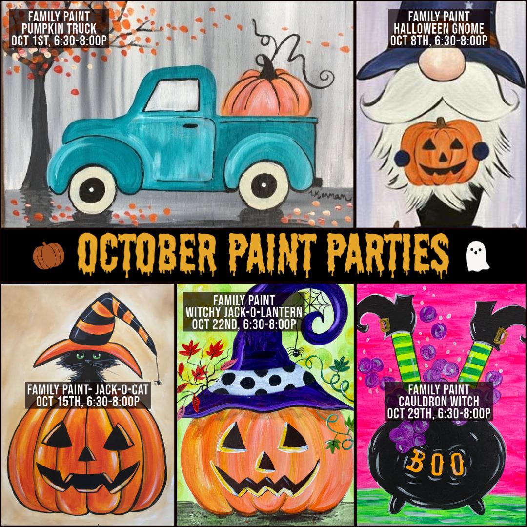 October Paint Parties